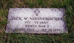 Jack W Nonnemacher