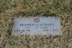 Francis L Oakley