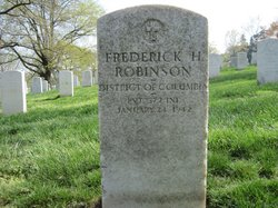 Frederick H Robinson