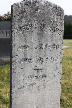 Joseph William Love