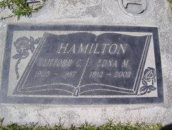 Edna M <I>Smith</I> Hamilton