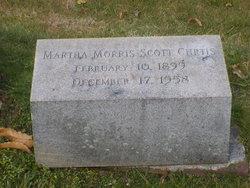 Martha Morris Scott Curtis