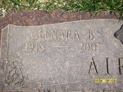 Glenara Belle <I>Luttrell</I> Airhart