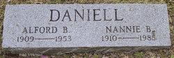 Alford B Daniell