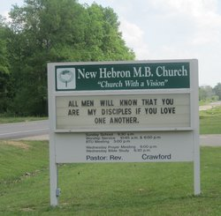 New Hebron MB Church Cemetery