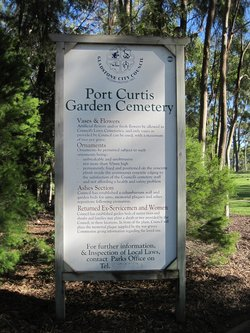 Port Curtis Garden Cemetery