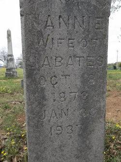 "Nancy Jane ""Nannie"" <I>Rice</I> Bates"
