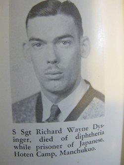 SSGT Richard W Dysinger