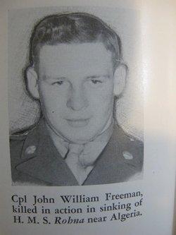 CPL John W. Freeman