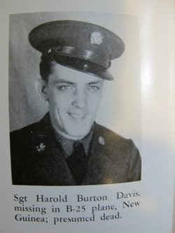 Sgt Harold Burton Davis