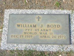 "William James ""Bob"" Boyd"