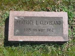 Beatrice Louise <I>Gordon</I> Cleveland