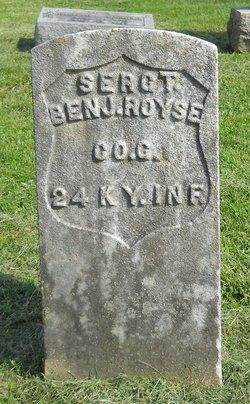 Sgt Benjamin Franklin Royse