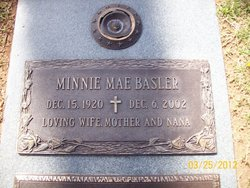 Minnie Mae <I>Wallin</I> Basler
