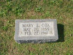 Mary Elizabeth <I>Price</I> Cox