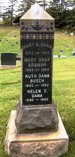 Ruth E <I>Dana</I> Busch