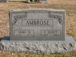 Alma O Ambrose