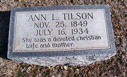 Ann Leah <I>Alderson</I> Tilson
