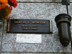 Darvis LeRoy Bowser