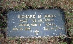 Richard M Jones