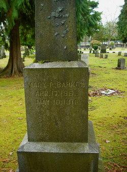 Mary P Barkow