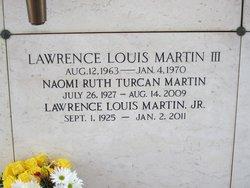 Naomi Ruth <I>Turcan</I> Martin