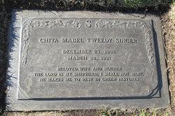 Chita Mabel <I>Tweedy</I> Singer