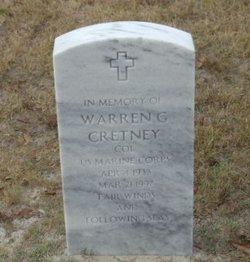 Warren G Cretney