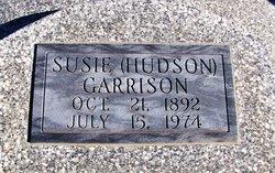 Susie <I>Hudson</I> Garrison