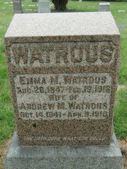 Emma M Watrous