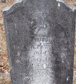 Rev F. A. Patterson