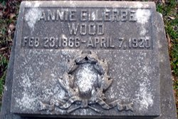 """Anna Eleanor """"Annie"""" <I>Ellerbe</I> Wood"""