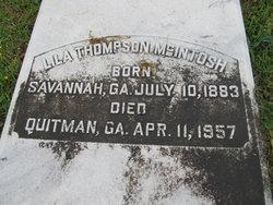 Mrs Lila Screven <I>Thompson</I> McIntosh