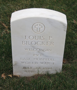 Louis P Brocker