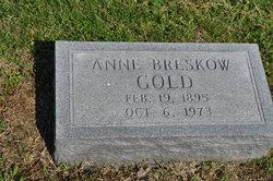 Anne <I>Breskow</I> Gold