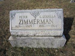 Lydia Lodella <I>Gindlesperger</I> Zimmerman