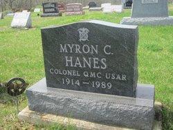 Myron C Hanes