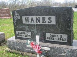 Onda Bernice <I>Corwin</I> Hanes