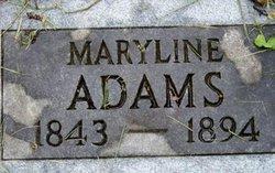Maryline A <I>Mathis</I> Adams