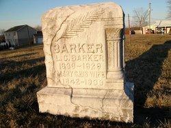 Mary Catherine <I>Fossett</I> Barker