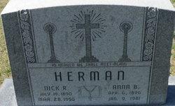 "Nicholas R ""Nick"" Herman"