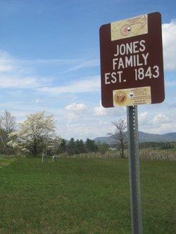 Jones Cemetery at Sugarloaf