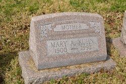 Mary A. <I>North</I> Kuhn
