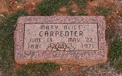 Mary Alice Carpenter