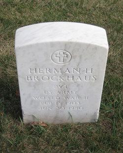 Herman H Brockhaus