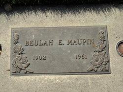 Beulah E Maupin