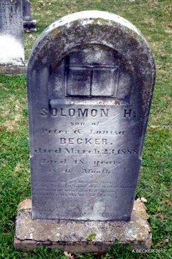 Solomon H Becker