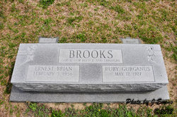 Ruby <I>Gurganus</I> Brooks
