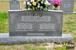Annie Bell <I>James</I> Gurganus
