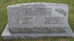 """Peder Anker Pedersen """"Peter"""" Warning"""